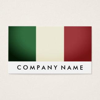 Italian Flag, Italy Business Card