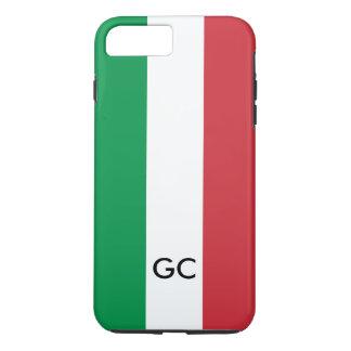 Italian flag Italy pride personalized monogram iPhone 8 Plus/7 Plus Case
