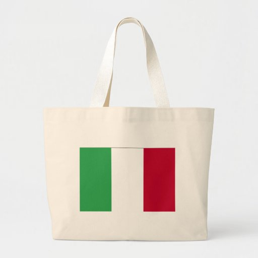 ITALIAN FLAG JUMBO TOTE BAG