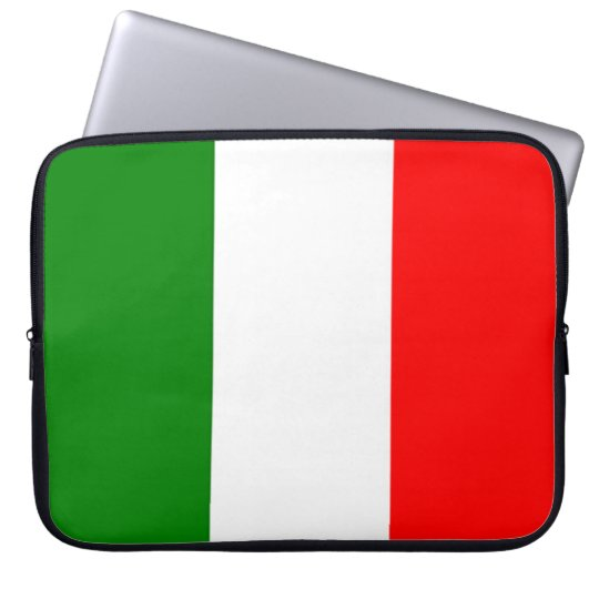 Italian Flag Laptop Sleeve