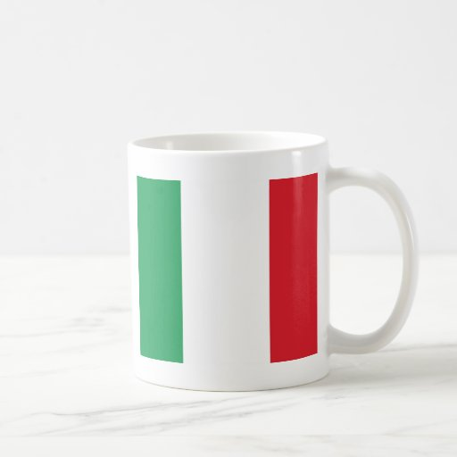 Italian Flag Coffee Mugs