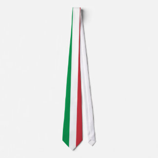 Italian flag neck ties