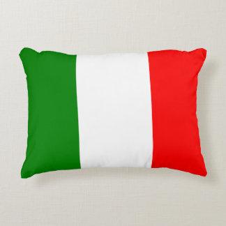 Italian Flag of Italy Bandiera d'Italia Tricolore Accent Cushion
