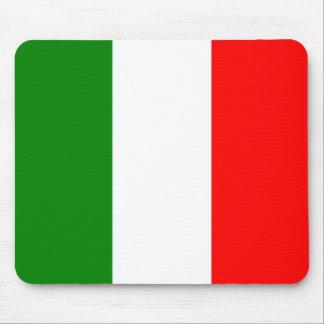 Italian Flag of Italy Bandiera d'Italia Tricolore Mouse Pad