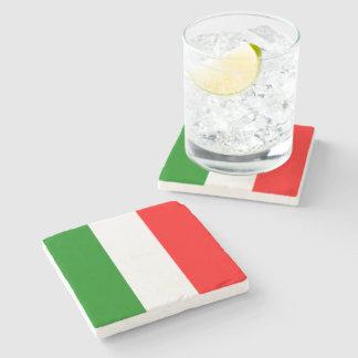 Italian Flag of Italy bandiera d'Italia Tricolore Stone Coaster