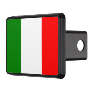 Italian Flag of Italy Trailer Hitch Cover