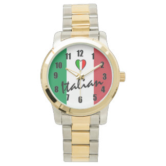 Italian-Flag of Italy Watch