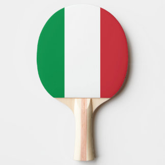 Italian flag ping pong paddle for table tennis