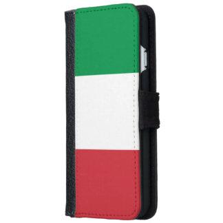 Italian Flag iPhone 6 Wallet Case