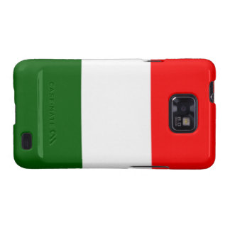 Italian Flag Samsung Galaxy S Case-Mate Bare Samsung Galaxy SII Cases