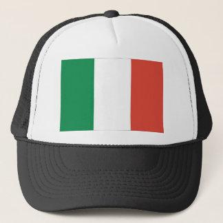 italian flag trucker hat