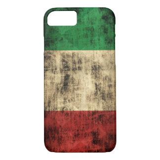 Italian Flag Vintage Grunge iPhone 8/7 Case