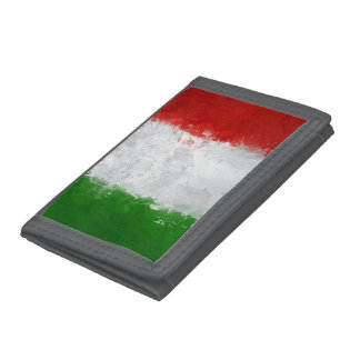 Italian Flag Wallet