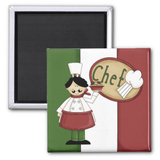 Italian Food Chef Magnet