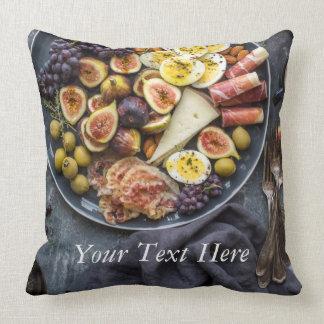 Italian Food Selection Cushion