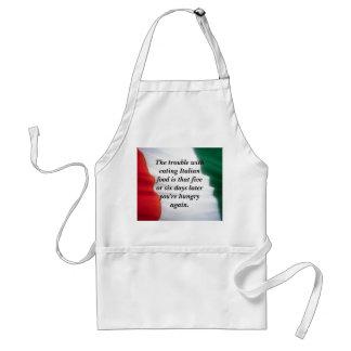 Italian Food.... Standard Apron