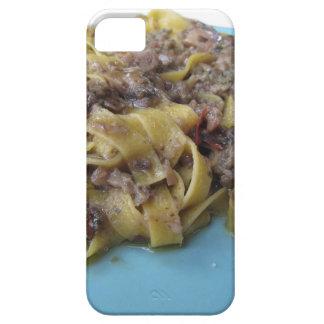 Italian fresh fettuccine or tagliatelle pasta barely there iPhone 5 case