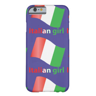 Italian Girl Barely There iPhone 6 Case