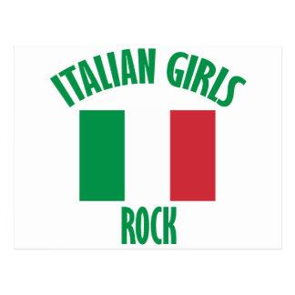 Italian girls DESIGNS Postcard