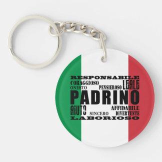 Italian Godfathers : Qualities Key Ring