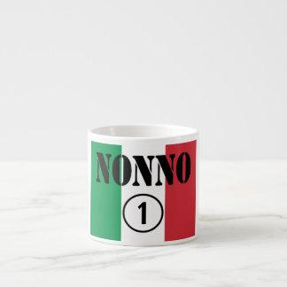 Italian Grandfathers : Nonno Numero Uno Espresso Cup