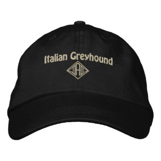 Italian Greyhound Dad Gifts Embroidered Hat