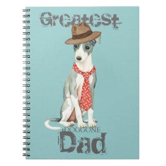 Italian Greyhound Dad Notebook