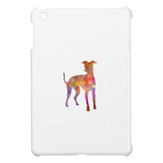Italian Greyhound in watercolor iPad Mini Covers