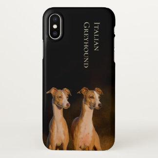 Italian Greyhound iPhone X Cover