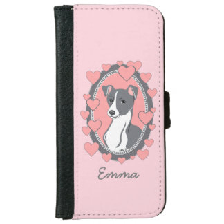 Italian Greyhound Love Custom Phone Wallet Case