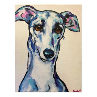 Italian Greyhound Postcard