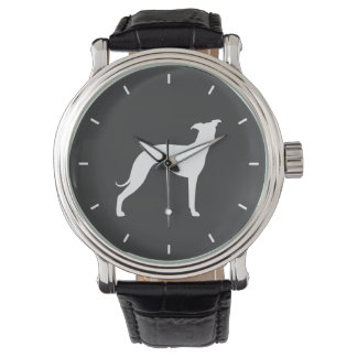 Italian Greyhound Silhouette Watch