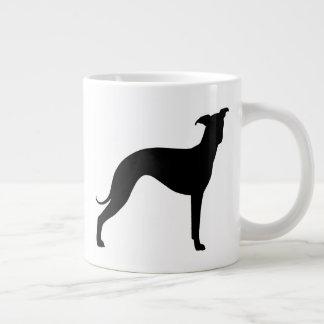 Italian Greyhound Silhouettes Large Coffee Mug