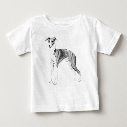 Italian Greyhound Style Baby T-Shirt