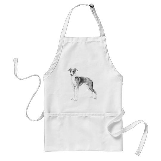 Italian Greyhound Style Standard Apron