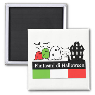 Italian Halloween Ghosts, Fantasmi di Halloween Magnet