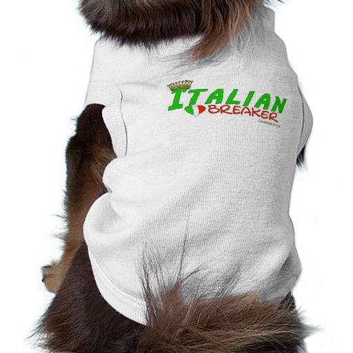Italian Heart Breaker Sleeveless Dog Shirt