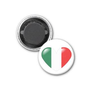 Italian heart magnet - Cuore Italiano