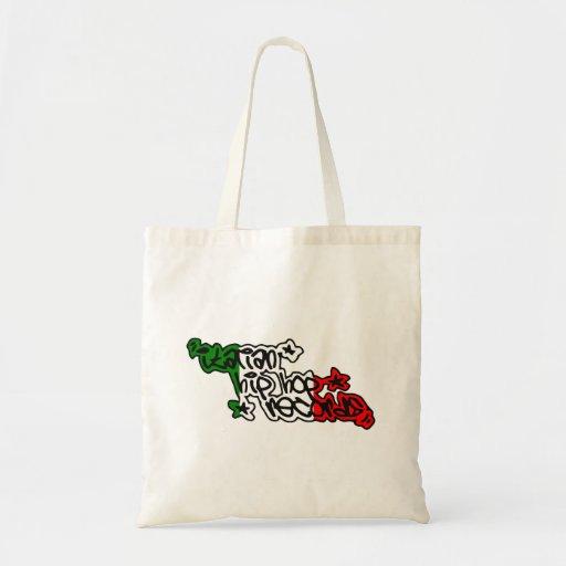 Italian Hip Hop Records Branded Gadgets Tote Bag