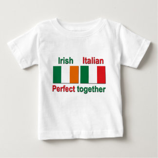 Italian Irish - Perfect Together! Baby T-Shirt