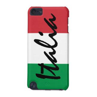 Italian Italia Flag iPod Touch (5th Generation) Cover