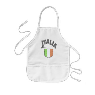 Italian Kids Cooking Apron