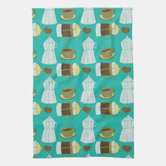 Italian Kitchen Coffee Press Expresso Tea Towel