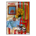 ITALIAN KITCHEN IN FLORENCE / FATHER'S DAY CARD