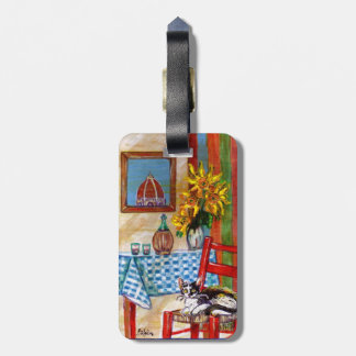ITALIAN KITCHEN IN FLORENCE LUGGAGE TAG