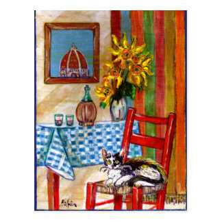 ITALIAN KITCHEN IN FLORENCE POST CARDS