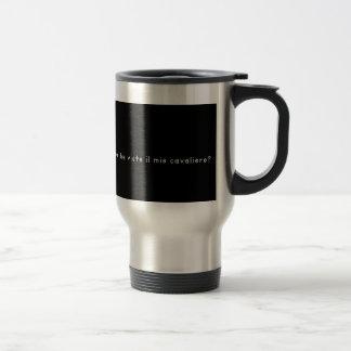 Italian-Knight Travel Mug