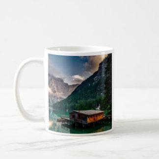 Italian Lake-Side Mountain Cabin Coffee Mug
