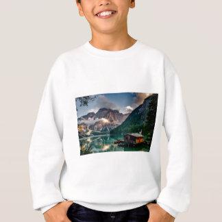 Italian Lake-Side Mountain Cabin Sweatshirt