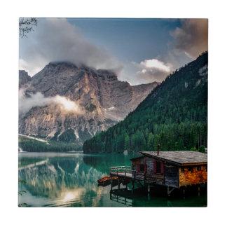 Italian Lake-Side Mountain Cabin Tile